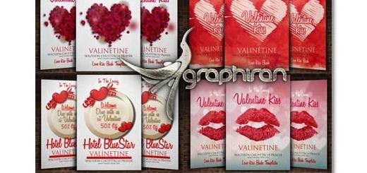 دانلود مجموعه ۱۲ پوستر عاشقانه و رمانتیک فرمت PSD لایه باز