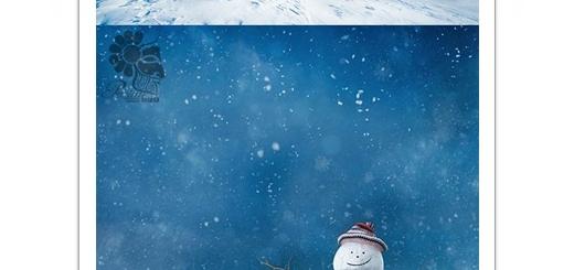 دانلود تصاویر با کیفیت آدم برفی زمستان