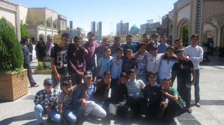 گزارش تصویری برگزاری اردوی مشهد مقدس