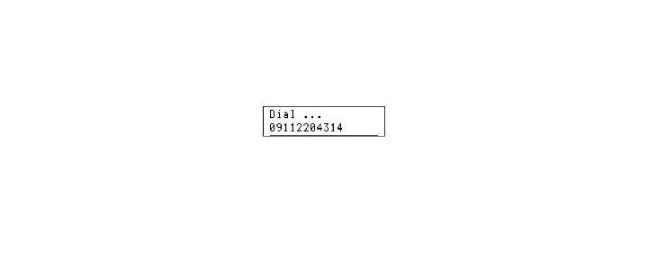 شماره گیری به روش تن با AVR