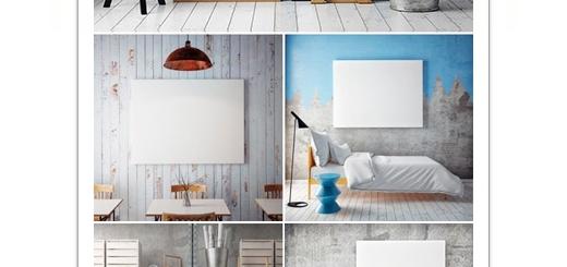 دانلود تصاویر با کیفیت موکاپ یا قالب پیش نمایش فریم پوستر