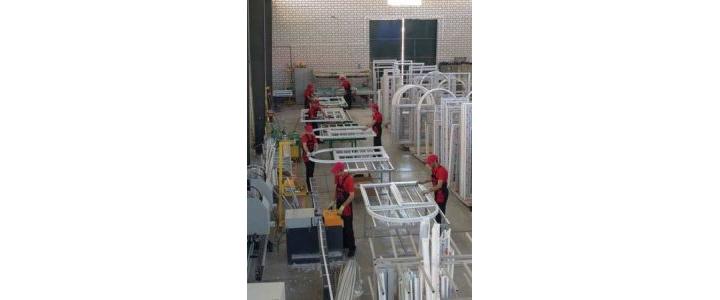 شرکت تولید پنجره دوسه جداره upvc