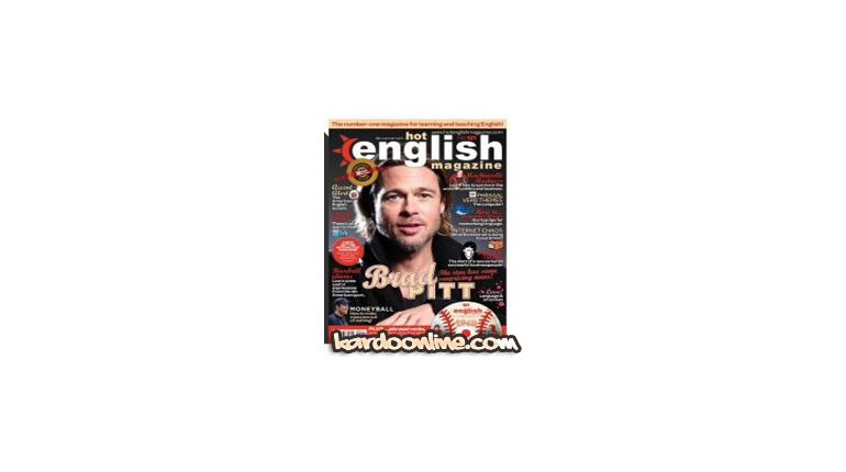 مجله آموزش انگلیسی hot english magazine 121