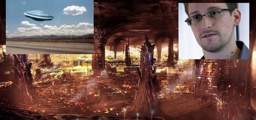 ادوارد اسنودن :یوفوها از تمدنی فرا زمینی آمده و در گوشته زمین مستقر شده اند
