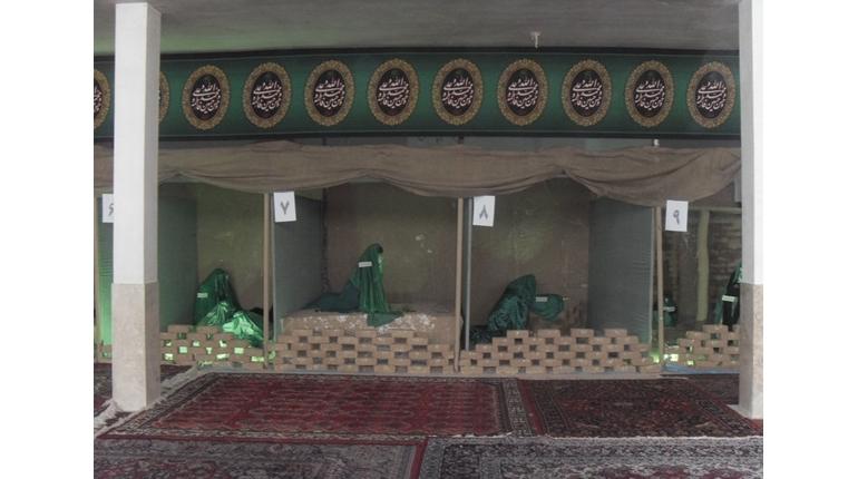 نمایشگاه غربت حضرت علی (ع) در شهادت حضرت زهرا (س)