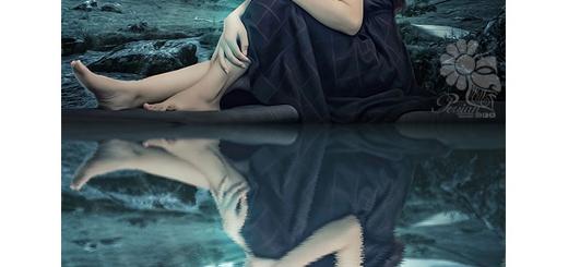 دانلود اکشن فتوشاپ ایجاد انعکاس تصاویر در آب