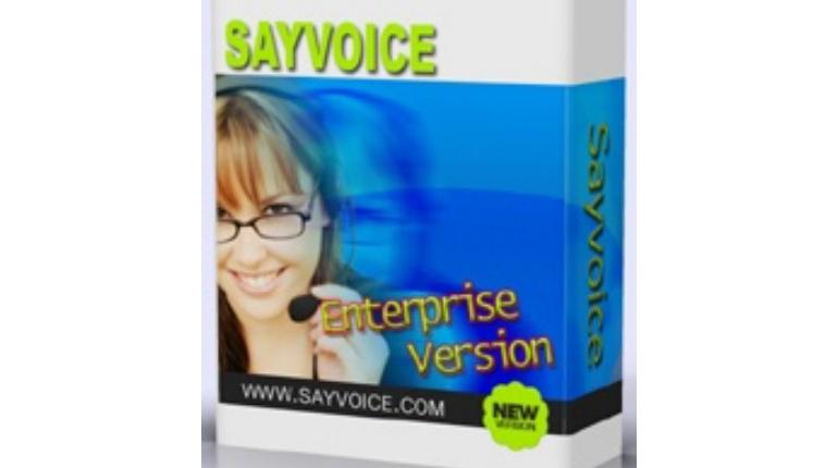 تبدیل متن های انگلیسی به گفتار با نرم افزار Sayvoice Text To speech