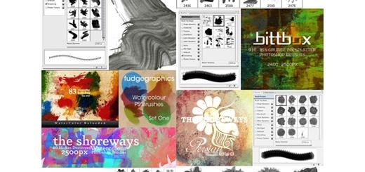 دانلود بیش از 300 براش فتوشاپ فوق العاده برای ایجاد افکت های متنوع نقاشی