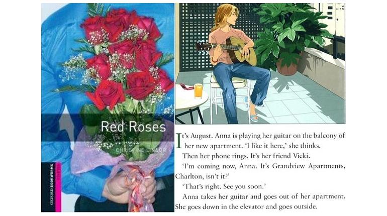 دانلود کتاب داستان Red Roses + فایل های صوتی