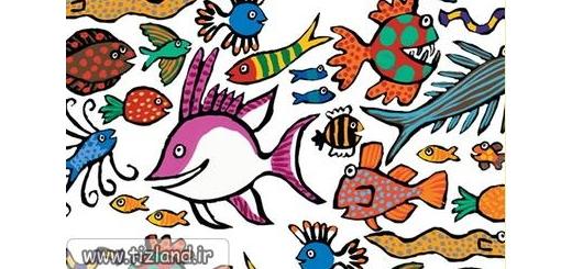 چند نوع ماهی می بینید؟