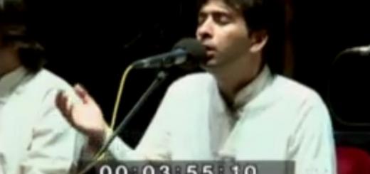 قطعهای از کنسرت برف خوانی – محمد معتمدی