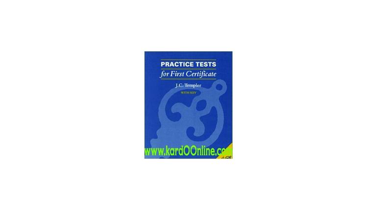 دانلود کتاب Practice Tests for First Certificate