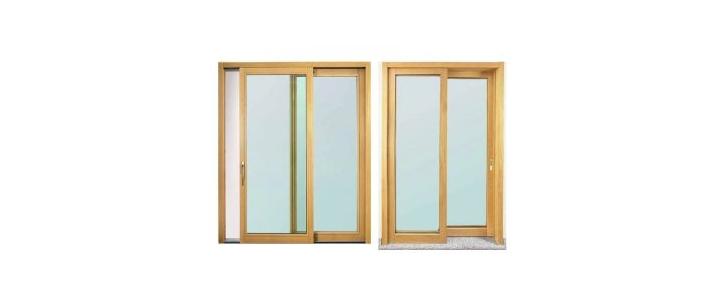 انواع در پنجره دو سه جداره استاندارد