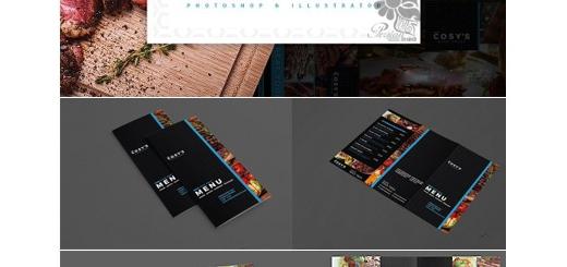 دانلود مجموعه تصاویر لایه باز منوی رستوران دولت و سه لت