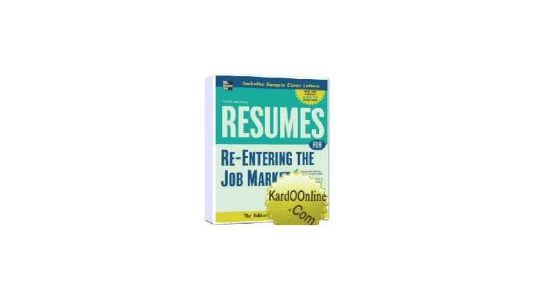 نوشتن رزومه Resumes for Re-Entering the Job Market