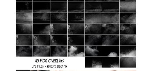 دانلود 45 تصویر کلیپ آرت افکت دود و مه برای تصاویر