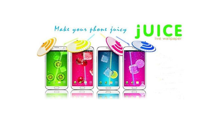 والپیپر زنده و بسیار زیبا از آبمیوه ها برای اندروید Juice PRO v3.5.3