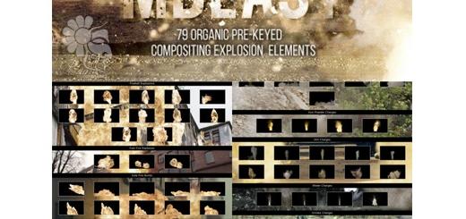 دانلود 79 افکت ویدئویی انفجار نارنجک، انفجار آتش، شعلههای سوزان و ... با کیفیت 2k