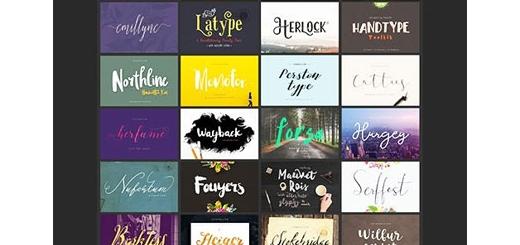 دانلود 52 فونت لاتین و بیش از 750 عناصر طراحی گرافیکی متنوع