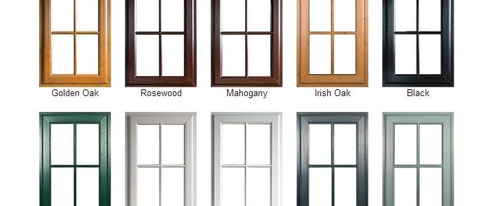 درب و پنجره دو سه جداره رنگی