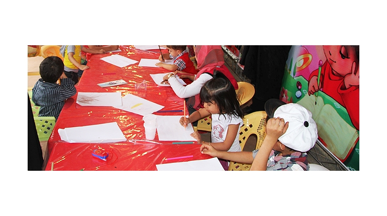 مسابقه نقاشی فجر و شکوفه ها
