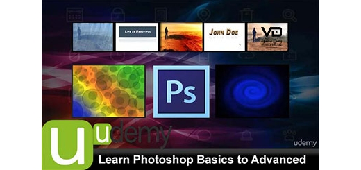 دانلود فیلم آموزشی Learn Photoshop Basics to Advanced