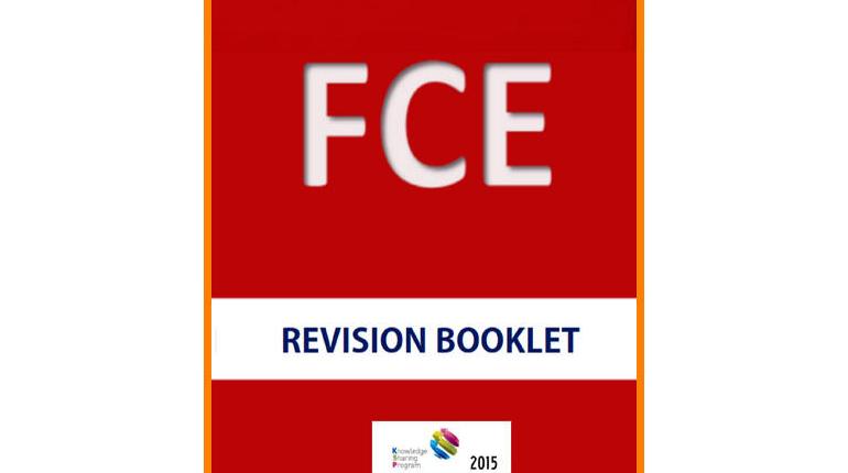 دانلود راهنمای آزمون FCE Revision Booklet / FCE