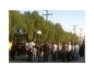برگزاری مراسم سالگرد شهادت امام محمد تقی (ع) در جویم