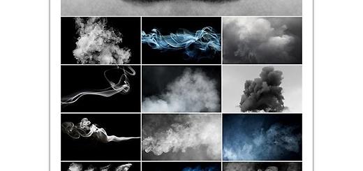 دانلود تصاویر با کیفیت پس زمینه دود و ابرهای دودی