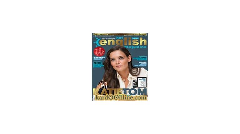 دانلود مجله آموزش انگلیسی    Hot English Magazine 128