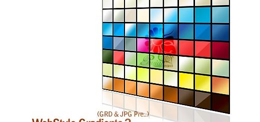 کاملترین گرادینت های وب سایت شماره یک - Webstyle Gradients 02