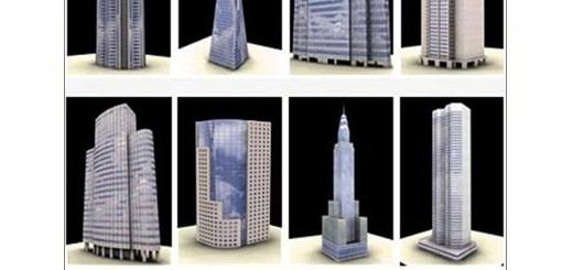 دانلود 100 مدل آماده سه بعدی آسمان خراش، برج، ساختمان