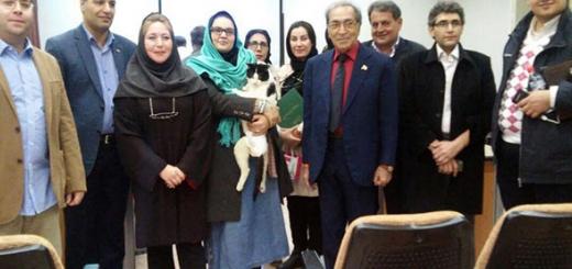 شرکت یک گربه در جلسه دفاع از پایان نامه