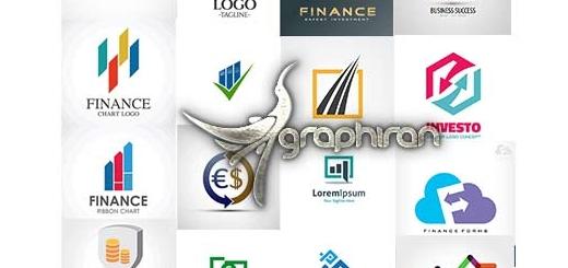 دانلود مجموعه ۲۵ طرح لوگوی تجاری و اقتصادی