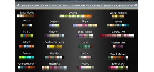 دانلود 92 سواچ رنگی برای فتوشاپ