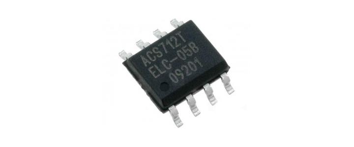 سنسور اندازه گیری جریان Acs712