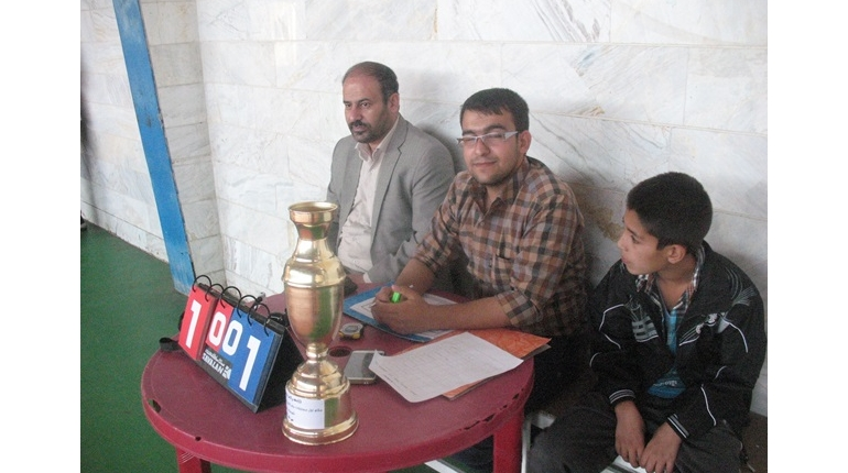 روز پایانی مسابقات با حضور مسئول دفتر نمایندگی کانون های مساجد خمین + گزارش تصویری