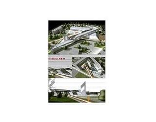 پایان نامه کارشناسی معماری با موضوع مجموعه فرهنگی