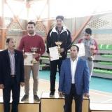 قهرمانی تیم بدمینتون دانشگاه جهرم در مسابقات دانشگاه های منطقه 5 کشور