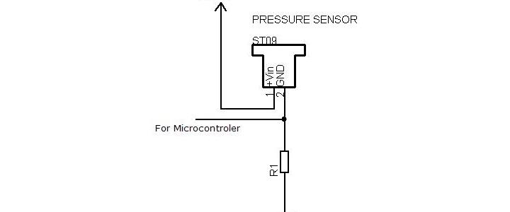 راه اندازی سنسور فشار ST09