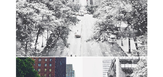 دانلود اکشن فتوشاپ ایجاد افکت بارش برف متحرک بر روی تصاویر به همراه آموزش ویدئویی
