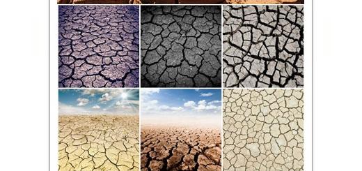 دانلود تصاویر با کیفیت زمین خشک و ترک خورده
