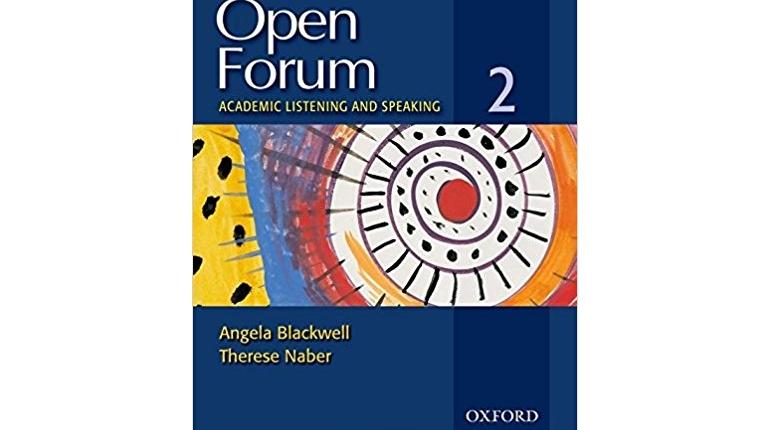 دانلود کتاب های تقویت مهارت شنیداری و گفتاری آکادمیک Open Forum