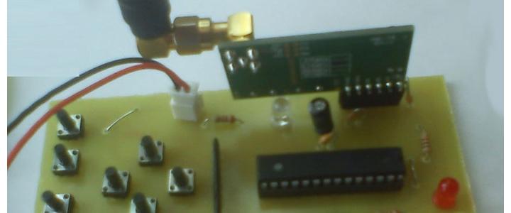 کنترل بی سیم ۸ کاناله با برد بیش از ۹۰ متر