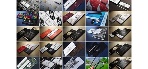 دانلود 100 تصویر لایه باز کارت ویزیت های متنوع