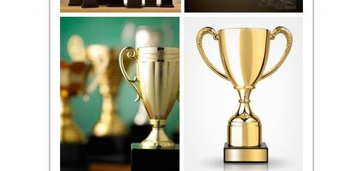 دانلود تصاویر با کیفیت جایزه، کاپ طل