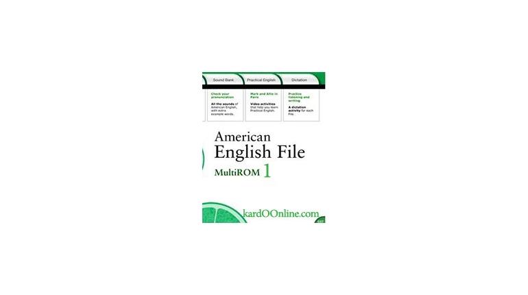 دانلود نرم افزار American English File 1 Multi-Rom
