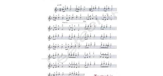 نت آهنگ گل سنگم