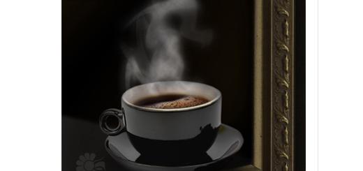 دانلود آموزش ایجاد افکت بخار قهوه در فتوشاپ به زبان فارسی