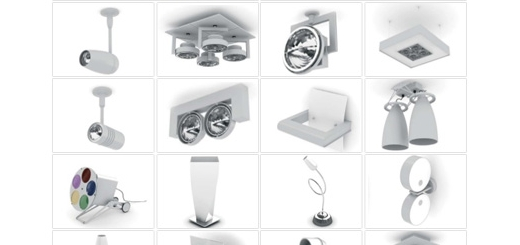 دانلود مدل های آماده سه بعدی آرچ مدل - لوستر، چراغ مطالعه، چراغ، لامپ ... - شماره 12